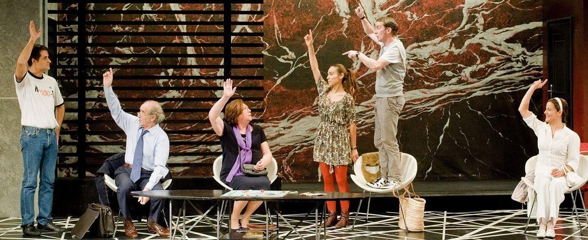 Sexta temporada de 39 toc toc 39 en el teatro pr ncipe gran Teatro principe gran via