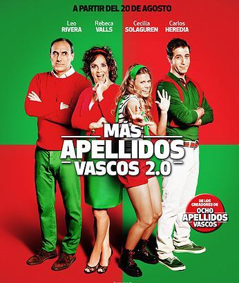 Mas apellidos vascos en el teatro marquina imagine tv - 8 apellidos vascos actores ...